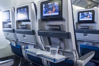 Entertainment in der Economy Class von KLM