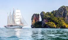 Thailand mit der Star Clipper - Nördliche Route
