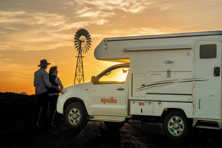 Außenansicht - Apollo 4WD Adventure Camper