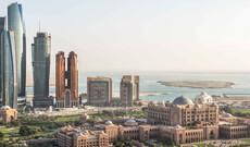 Abu Dhabi am Privatstrand