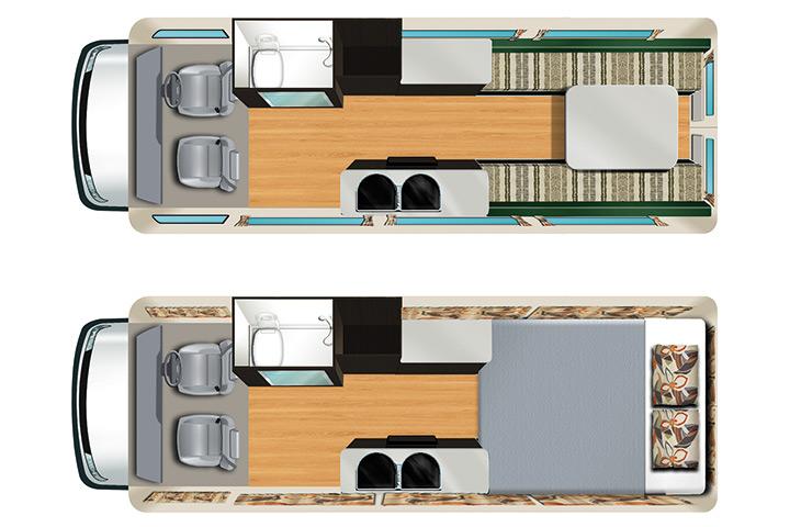 Floorplan Apollo Euro Tourer