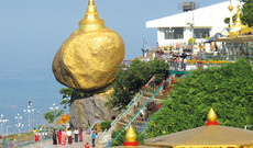 Heiligtum Golden Rock und Hpa-An
