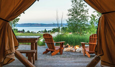 Glamping am Bear Lake