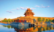 Authentisches Peking