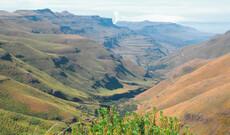 Sani-Pass und Königreich Lesotho