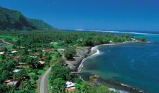 Begrüßung/Verabschiedung auf Tahiti