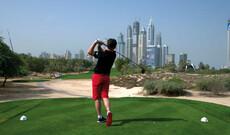 Golfen in den Emiraten