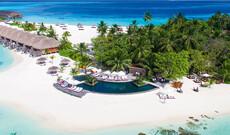 Luxusurlaub auf den Malediven