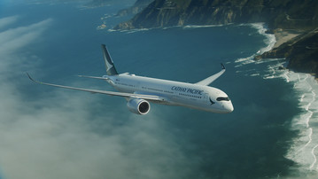 A 350 Cathay Pacific