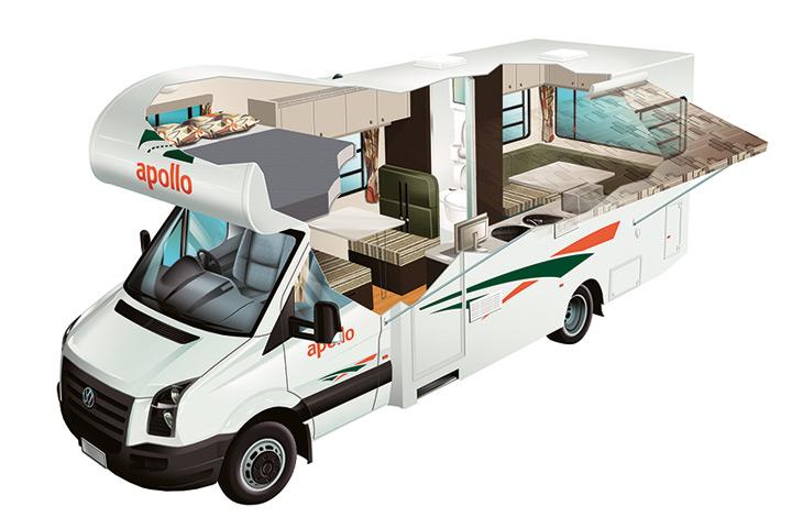 Cutaway Apollo Euro Deluxe