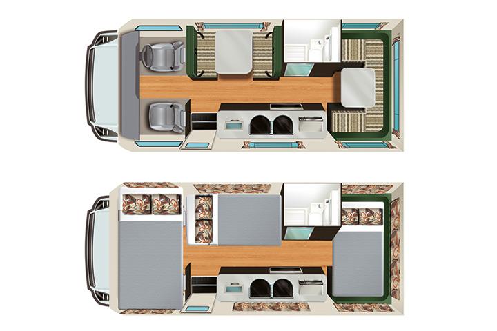 Floorplan Apollo Euro Deluxe