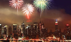 Silvesterparty in New York