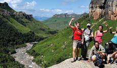 Südafrika zu Fuß