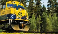 Alaska per Zug