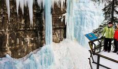 Johnston Canyon Eiswanderung
