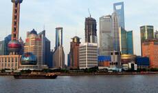 Flussfahrt auf dem Huang Pu