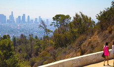 Wandern in den Hollywood Hills
