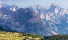 Rocky Mountains bis Pazifikküste