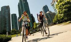 Auf zwei Rädern durch Vancouver